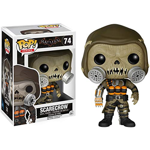 Funko Scarecrow: Batman - Arkham Knight x POP! Heroes Vinyl Figure & 1 POP! Compatible PET Plastic Graphical Protector Bundle [#074 / 06291 - B]]()