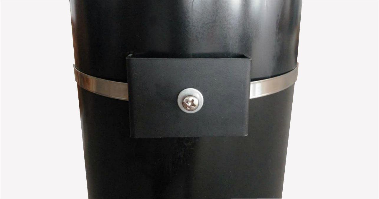 FixtureDisplays Pole Mounting Bracket Tube Signage Bracket Strap 16780-NPF