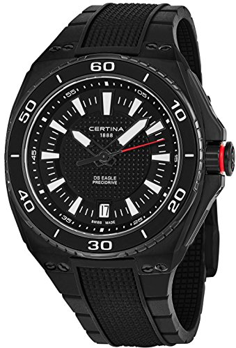 Certina DS Eagle Black Dial Mens Quartz Watch C023.710.17.051.00 - 51Hc2p1Bj0L - Certina DS Eagle Black Dial Mens Quartz Watch C023.710.17.051.00