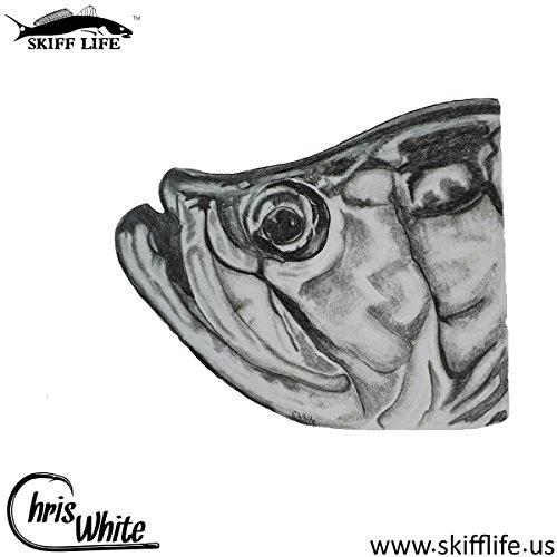 Tarpon Fishing Decal Fish Sticker Chris White Art (Tarpon Decal)