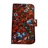 Zocardo Faux Leather Universal Diary Flip Cover with Inner Pocket for Micromax Bolt Q331 - Red