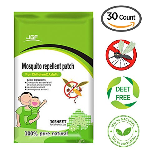 Mosquito Repellent Patch - 30 Count, Keeps Insects and Bugs Far Away, Convenient For Travel, Outdoor and Camping...