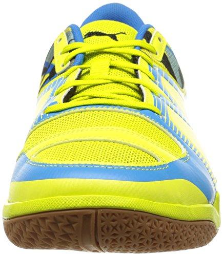 Puma evoIMPACT 5 - Zapatillas deportivas para interior de material sintético hombre amarillo - Gelb (sulphur spring-black-cloisonné 01)
