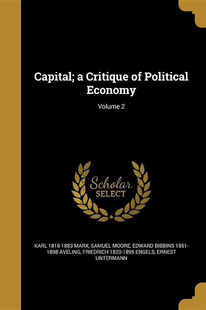 Download Capital; A Critique of Political Economy; Volume 2 PDF