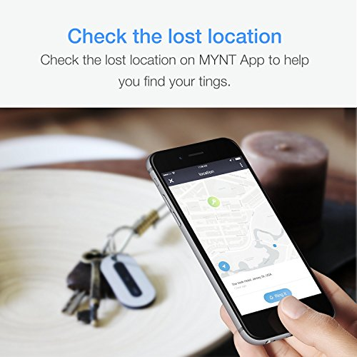 MYNT Tracker - Key Locator, Wallet Tracker, Phone Finder, Remote Control. Find Your Valuable Item Near and Far