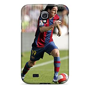 Samsung Galaxy S4 OSg10644HQmw Support Personal Customs Realistic Messi Series Anti-Scratch Hard Phone Cases -ColtonMorrill