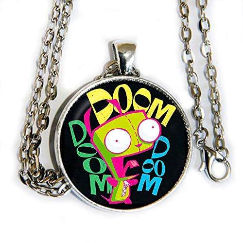 Amazon.com: Gir Doom - pendant necklace - Invader Zim - HM