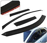Honda Cr-v Crv Tape-On 4 Door Window Visor Rain Guard Shade Wind Sun Deflector Aerodynamic Vent Ventilation 4 Pieces