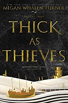 Thick as Thieves by Megan Whalen Turner YA epic fantasy book reviews