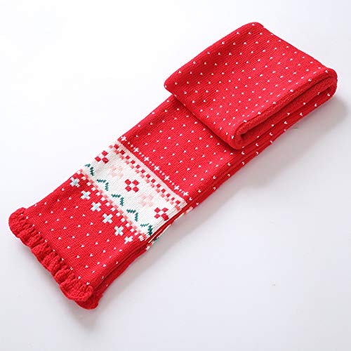 ACVIP Little Girls Acrylic Knit Wool Pom Cold Weather Scarf