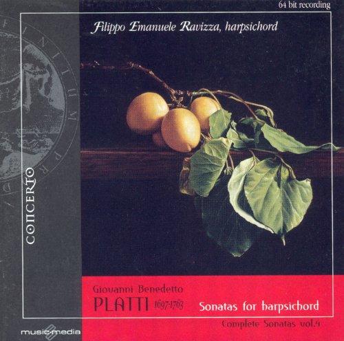 Complete Harpsichord Sonatas - Platti, G.: Harpsichord Sonatas (Complete), Vol. 4 - Nos. 15-18