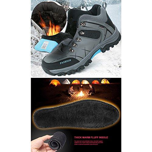 patinage Marche Loisir En Gris De Mâle Chaussures Air Sport Chaussures De Chaussures De Anti Sport Randonnée top Eastlion Haute Plein Oq7vS