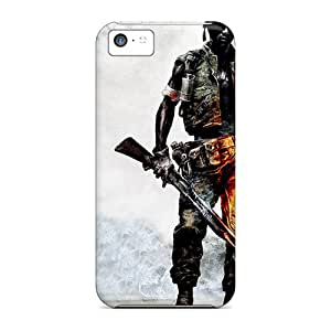SObVwwd-480 Tpu Phone Case With Fashionable Look For Iphone 5c - Battlefield Bad Company 2 Vietnam