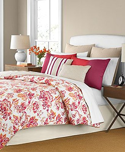 Martha Stewart Collection Pristina 6 Piece Comforter Set, (Martha Stewart Collection 6 Piece)