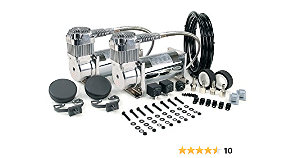 VIAIR 380C 200 PSI Dual Performance Value Pack Chrome by