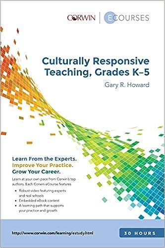 Amazon.com: Culturally Responsive Teaching K-5 eCourse Slimpack ...