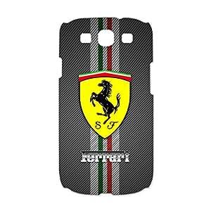 Ferrari Logo Phone Case 3D Classical Design Protective Cover Case for Samsung Galaxy S3 I9300 Ferrari Series