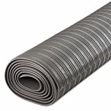 Crown - Ribbed Anti-Fatigue Mat Vinyl 36 X 120 Gray ''Product Category: Breakroom And Janitorial/Mats & Antislip Tape''