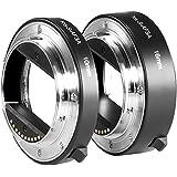Neewer Metal AF Auto-focus Macro Extension Tube Set 10mm&16mm for Sony NEX E-mount Camera NEX 3/3N/5/5N/5R/A6000/A6300 and Full Frame A7 A7S/A7SII A7R/A7RII A7II