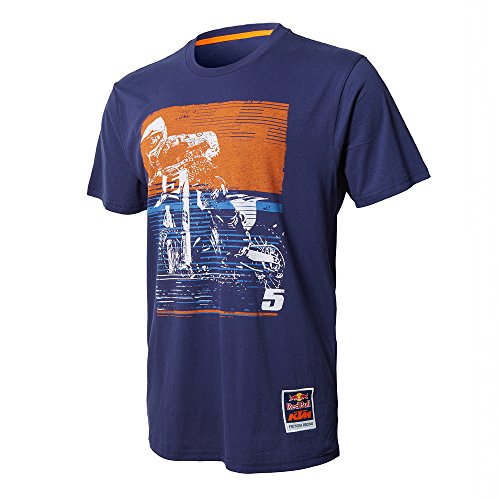 Red Bull KTM Factory Racing Dungey Signature Tee Navy Blue - Ryan Xxx