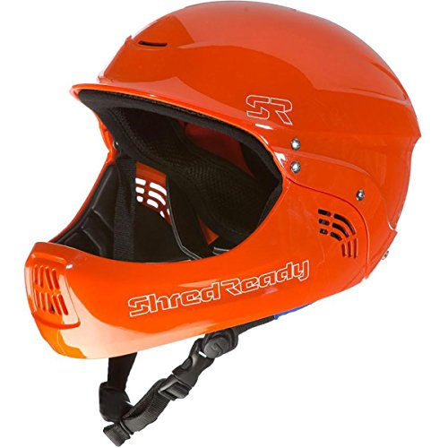 Shred Ready Standard Fullface Helmet - Safety Orange