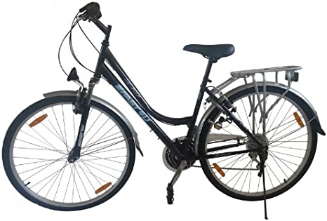Bicicleta para mujer, cambio Shimano de 21 marchas, rueda de 28 ...
