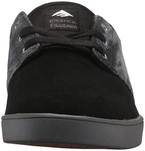 Silver Emerica Scarpe Black da Figueroa Grey Uomo The da Skateboard EZwZz