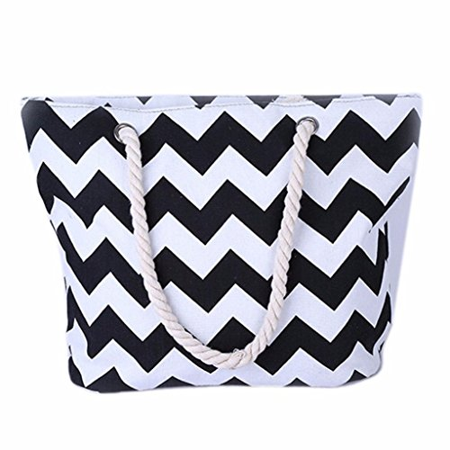 Egmy-2016-Women-Girl-Canvas-Wave-Striped-Hemp-Handbag-Messenger-Satchel-Shoulder-Bag
