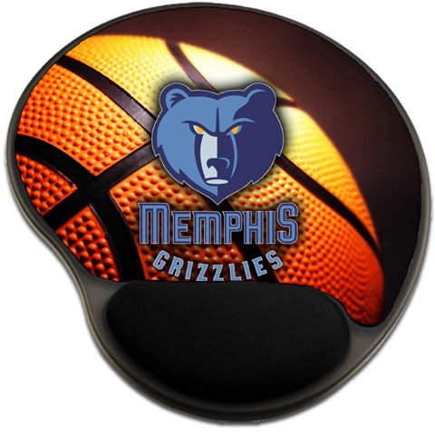 Grizzlies Basketball Mousepad Base with Wrist Support Mouse Pad Great Gift Idea Memphis [Office Product]