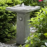 Bjorn Bird Bath Fountain