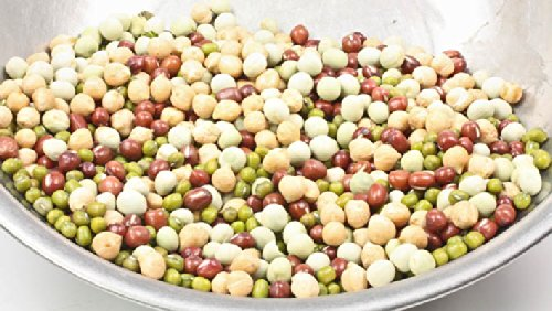 Adzuki Sprouting Seed (Todd's Seeds Protein Bean Sprouting Seed Mix; Green Pea, Mung Bean, Adzuki, Garbanzo - 1 Pound)