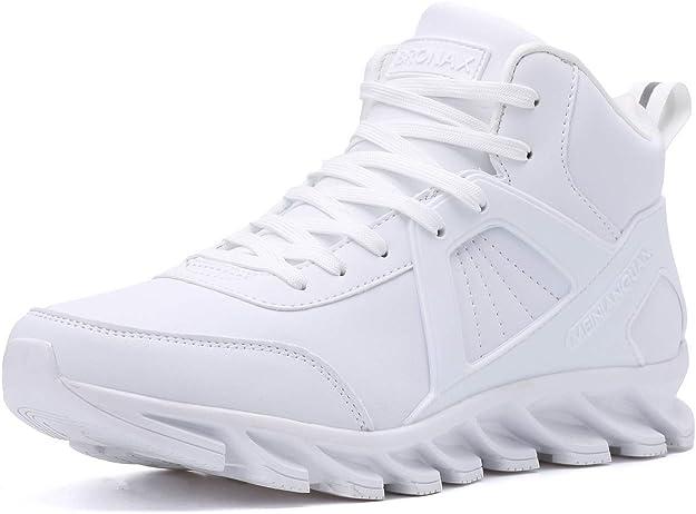 Bronax Sneakers Herren Männer Hightops Weiß