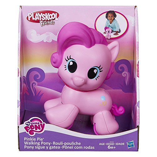 Playskool Friends My Little Pinkie Pie Walking Pony Toy ()