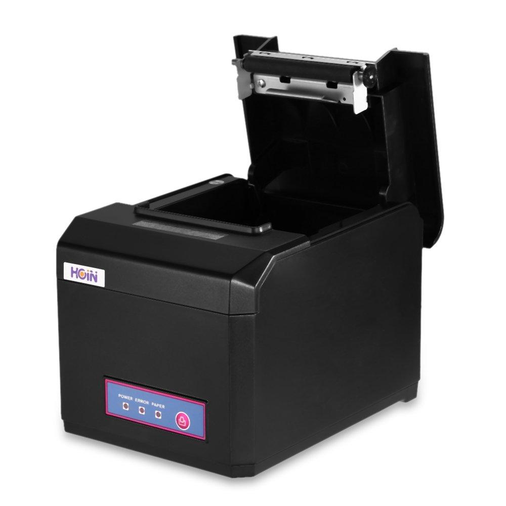 JEPOD XP-Q200II USB+SERIAL or LAN thermal receipt 80mm thermal receipt printer pos printer thermal cheap LAN
