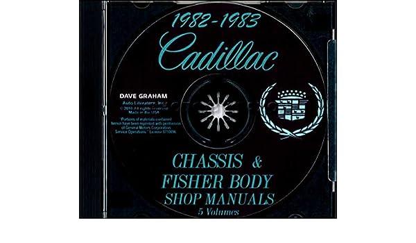 fully illustrated 1982 1983 cadillac repair shop service manual rh amazon com 1989 Cadillac Seville 84 Cadillac Seville