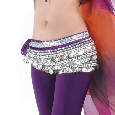 de paillettes de Écharpe Style Idée Noël de Dance Hip Cadeau avec Belly 21 jupe SRq86