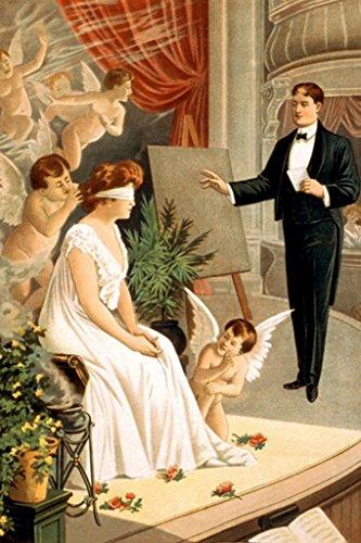ArtParisienne The Hypnotist No. 3 Donaldson Litho 12x18 Poster Semi-Gloss Heavy Stock Paper Print