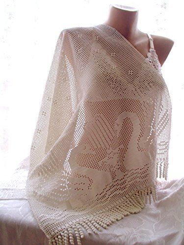 crochet lace shawl, bridesmaid shawl, wedding shawl,bridal shawl, white shawl, handmade shawl, bridal cover up, wedding wrap, wedding shawl by crochets4world