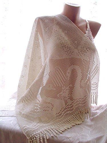crochet lace shawl, bridesmaid shawl, wedding shawl,bridal shawl, white shawl, handmade shawl, bridal cover up, wedding wrap, wedding shawl