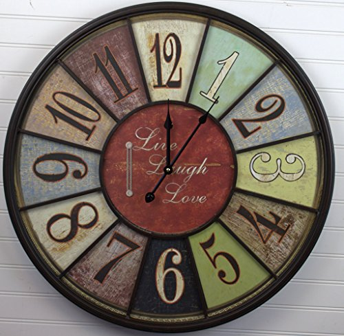 Live Laugh Love Clock