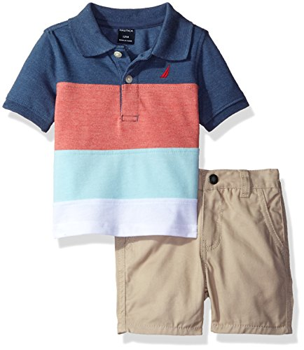 nautica-baby-boys-stripe-polo-with-pull-on-short-set-ink-12-months