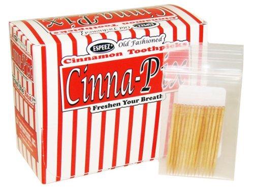 Cinna-Pix Old Fashioned Cinnamon Toothpicks, 24 Count by Espeez