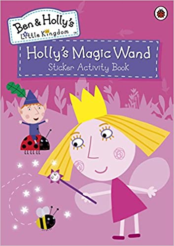 ben and holly s little kingdom holly s magic wand sticker activity