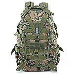 WFSH Sac À Dos Tactique Militaire 25L Large Imperméable Molle Bug Out Sac Armée 3 Jours Assault Pack 6