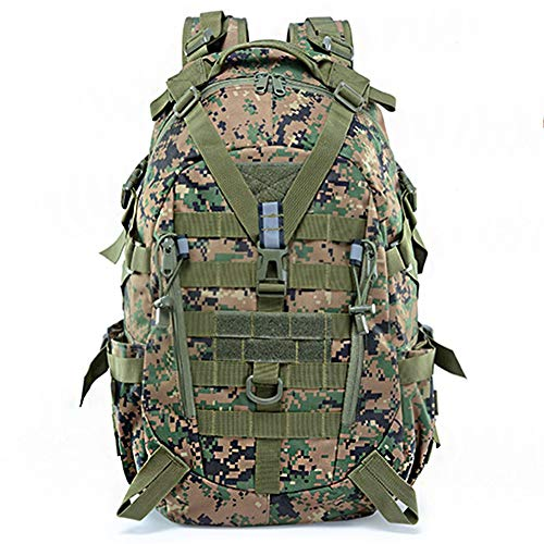 WFSH Sac À Dos Tactique Militaire 25L Large Imperméable Molle Bug Out Sac Armée 3 Jours Assault Pack 1