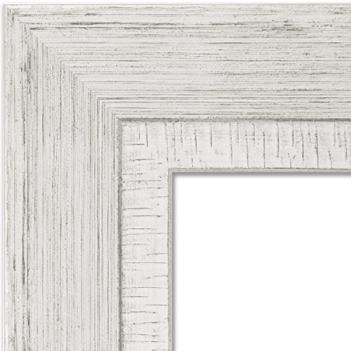 hot sale Amanti Art Rustic Whitewash Framed Beige Cork Board, Small ...