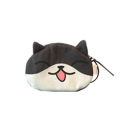Skyeye Monedero, Estilo del Gato de Las Gafas, Bolso del Estilo del Gato,