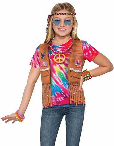 Forum Novelties Kids Hippie Costume, Multicolor, Medium