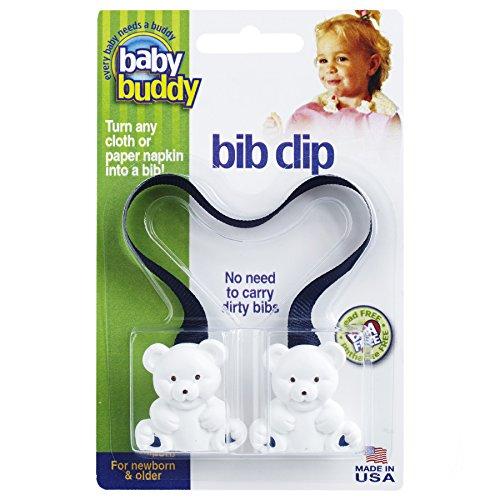 - Baby Buddy Bib Clip, Navy