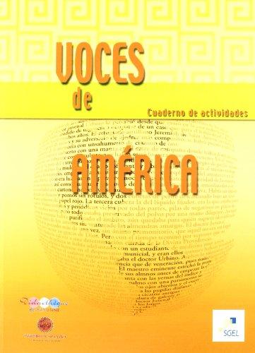 Voces de America. Ejercicios (Spanish Edition) by Sociedad General Espanola de Libreria
